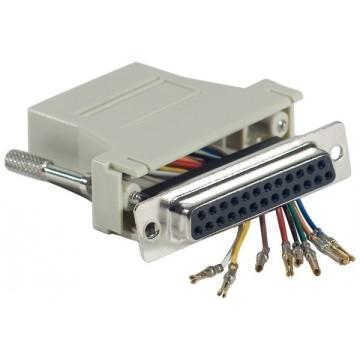 Adaptateur DB25F / RJ45250450
