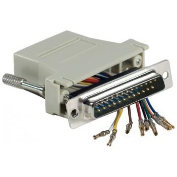 Adaptateur DB25M / RJ45250460
