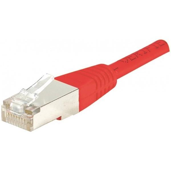 Cordon RJ45 catégorie 6 F/UTP rouge - 1,5 m857910Cordon RJ45 catégorie 6 F/UTP rouge - 1,5 m