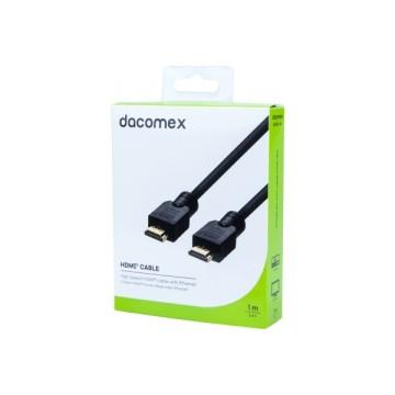 DACOMEX Cordon HDMI haute vitesse avec Ethernet - 1 m199044