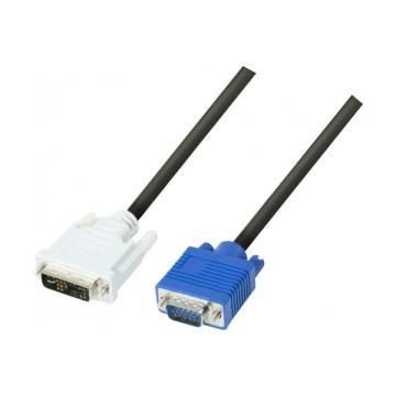 Cordon dvi-a/vga HD15M Single Link - 3 m127711Cordon dvi-a/vga HD15M Single Link - 3 m