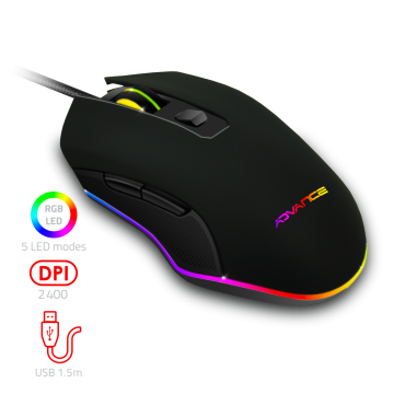 Souris Gaming RGB GTA 210